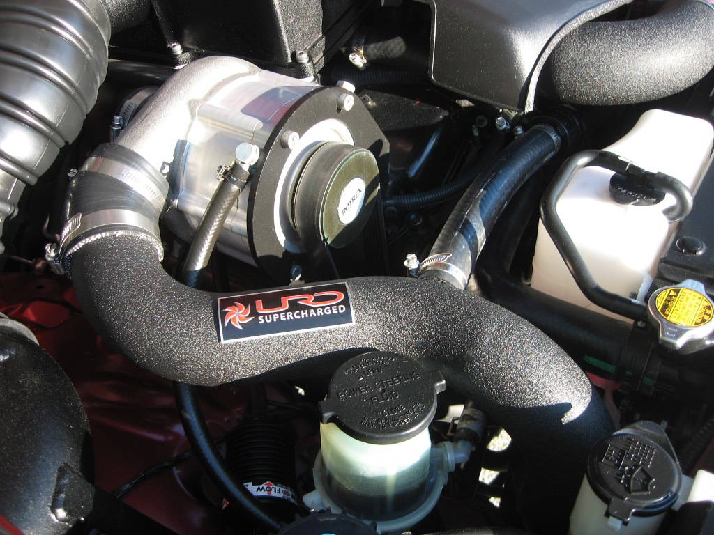 Urd Mk3 Supercharger Kit For 2005 2009 4runner Stage I Underdog 1992 Toyota Exhaust System