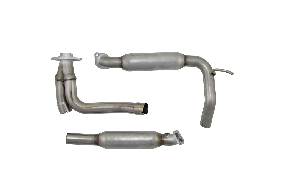 OCPTY Exhaust Manifolds Turbocharger Y-Pipe Up Pipe 2003-2007 Ford with 679-011